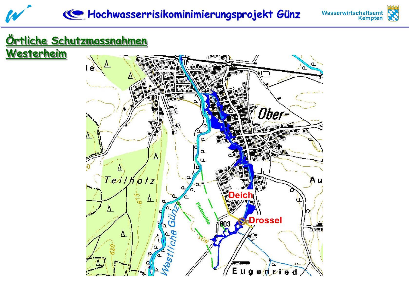 Örtliche Schutzmassnahmen Westerheim