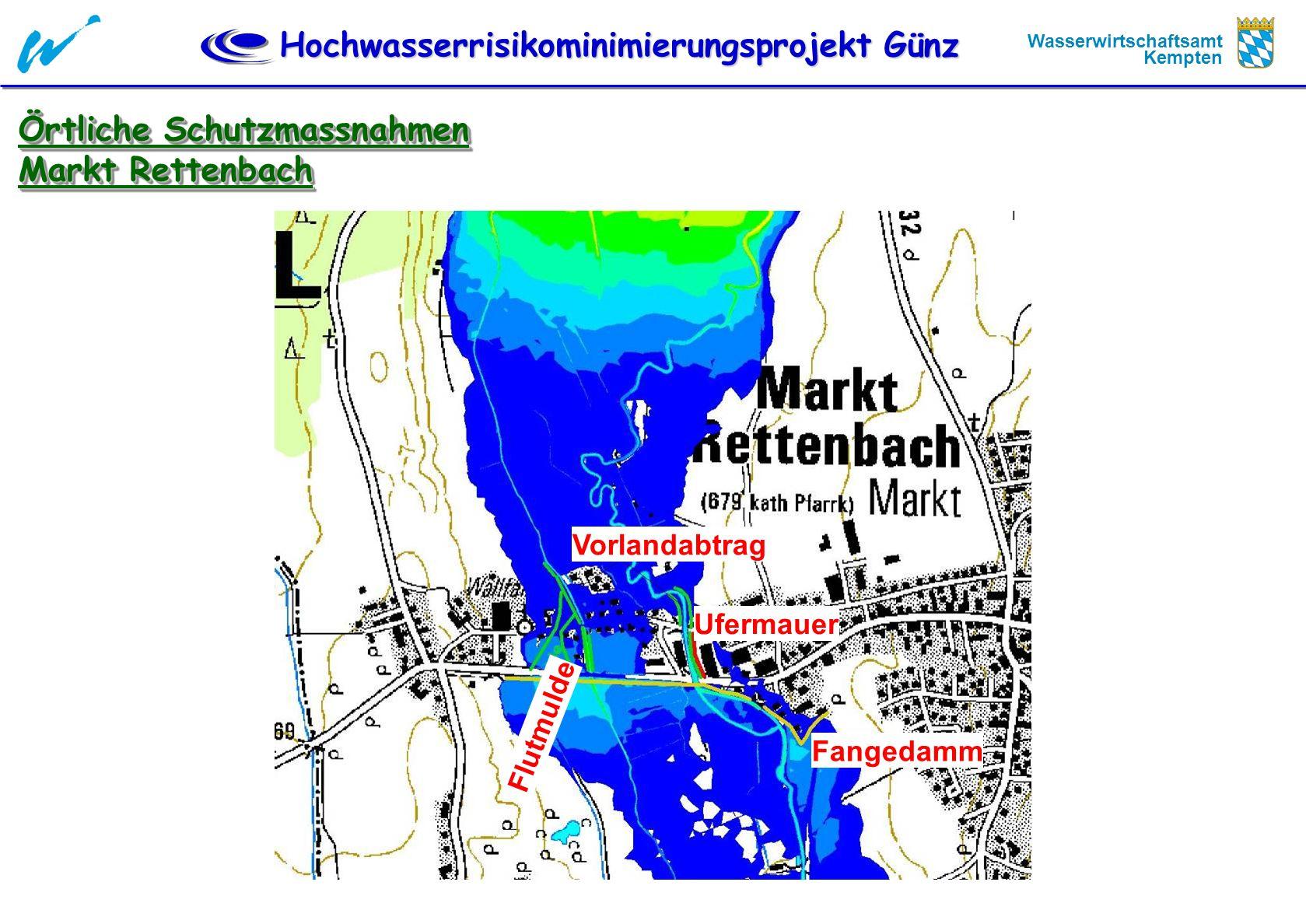 Örtliche Schutzmassnahmen Markt Rettenbach