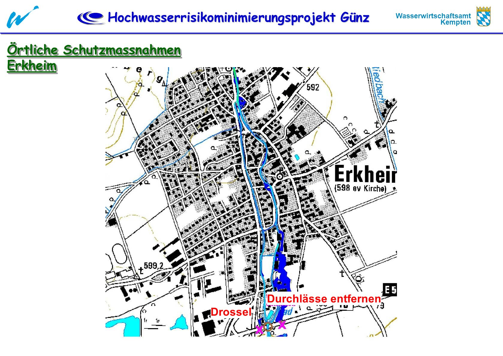 Örtliche Schutzmassnahmen Erkheim