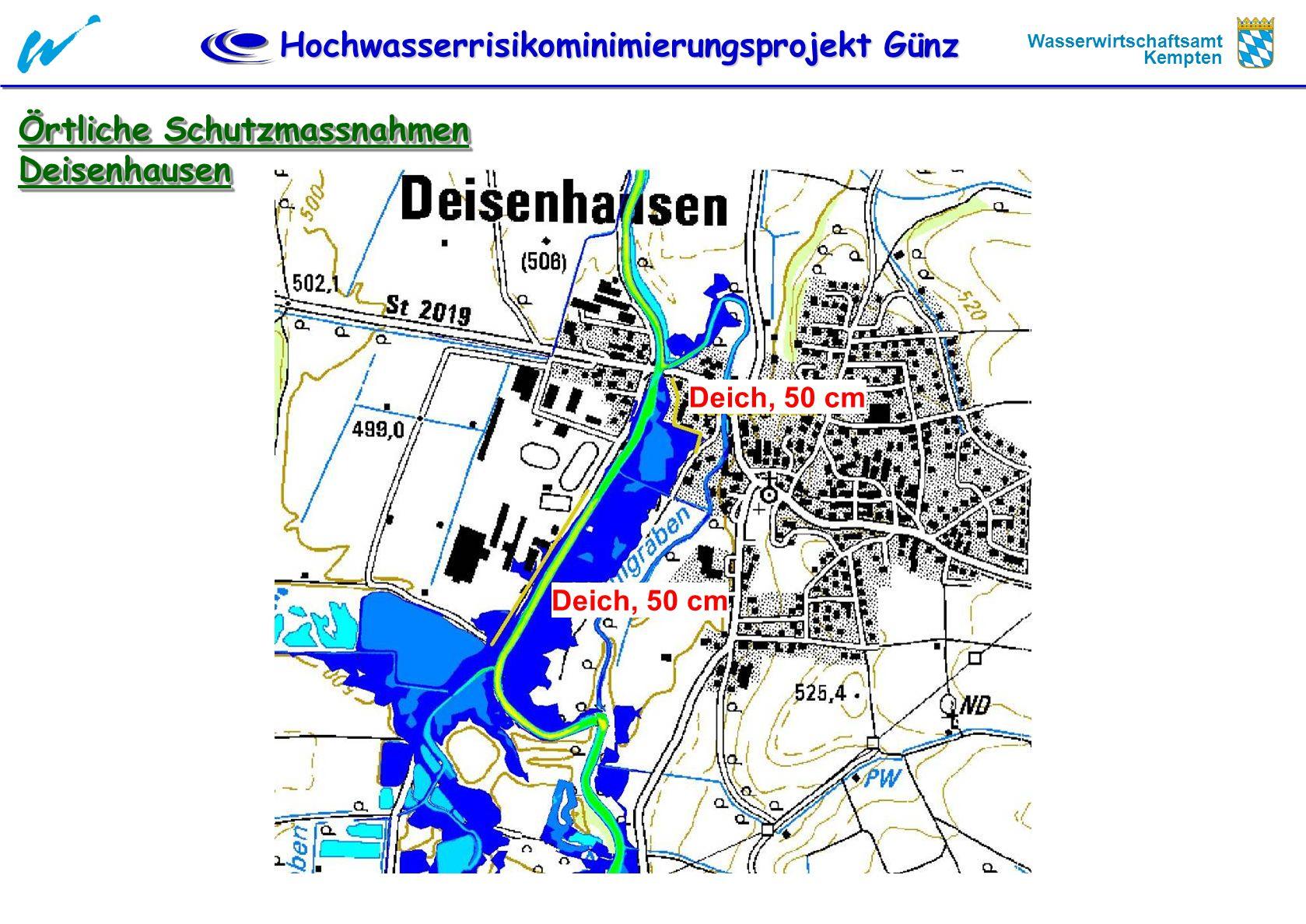 Örtliche Schutzmassnahmen Deisenhausen