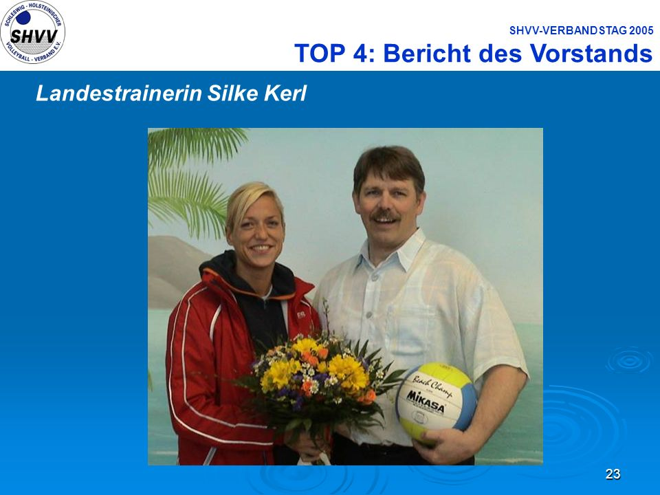 Landestrainerin Silke Kerl