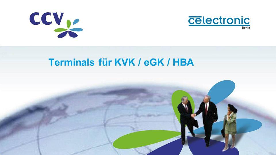 Terminals für KVK / eGK / HBA
