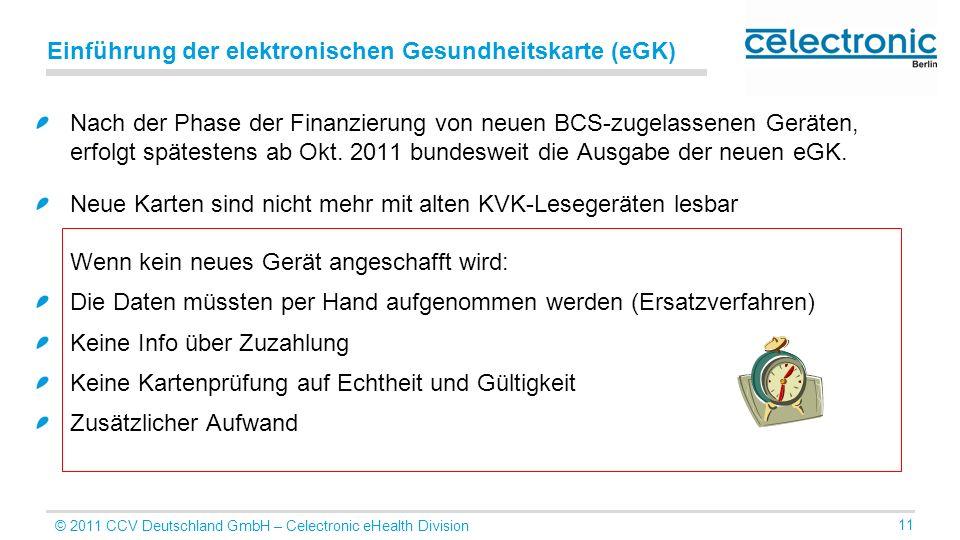 Einführung der elektronischen Gesundheitskarte (eGK)