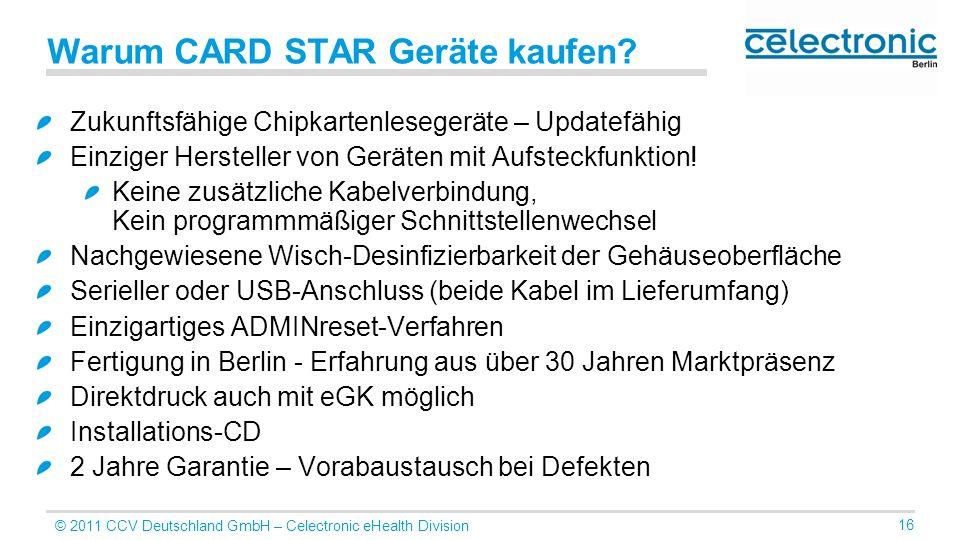 Warum CARD STAR Geräte kaufen