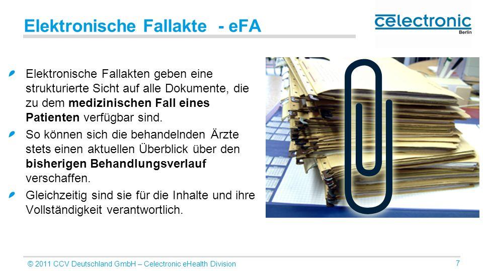 Elektronische Fallakte - eFA