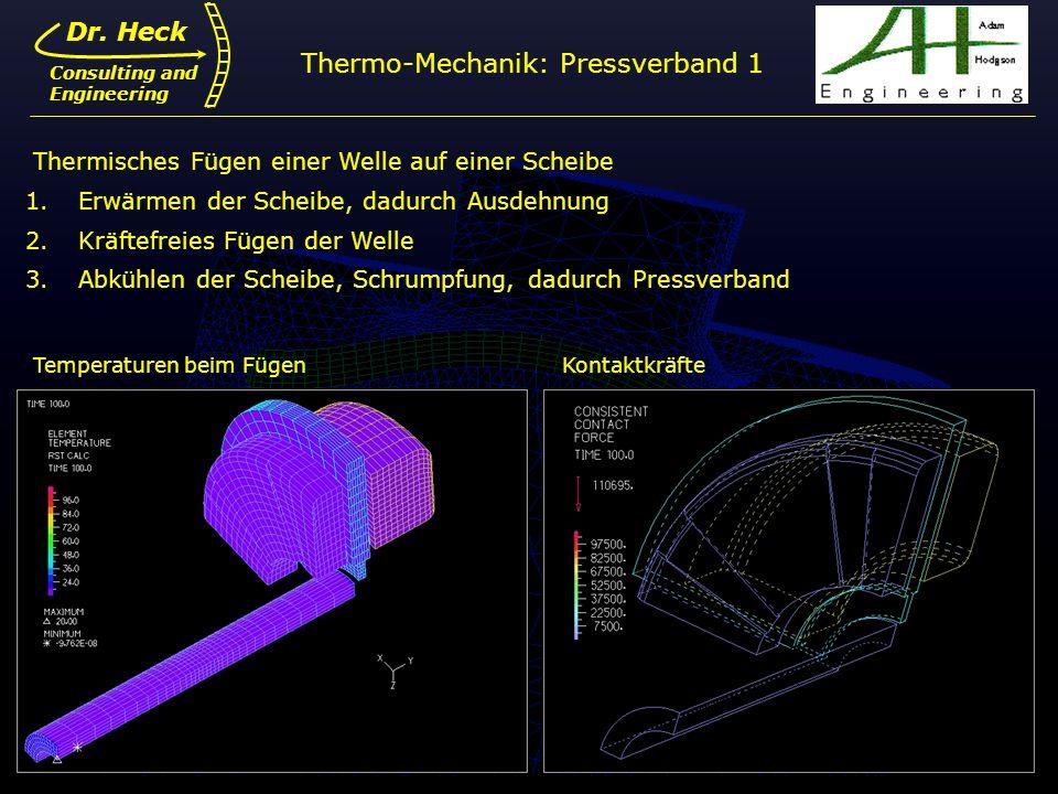 simulation nichtlinearer systeme integration adina in i. Black Bedroom Furniture Sets. Home Design Ideas