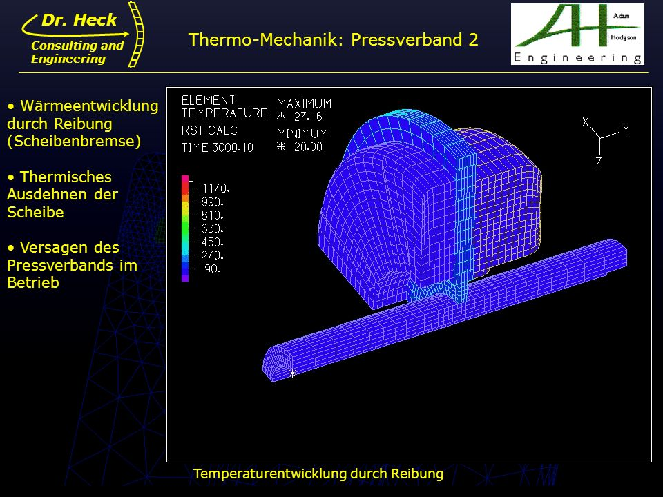 Thermo-Mechanik: Pressverband 2