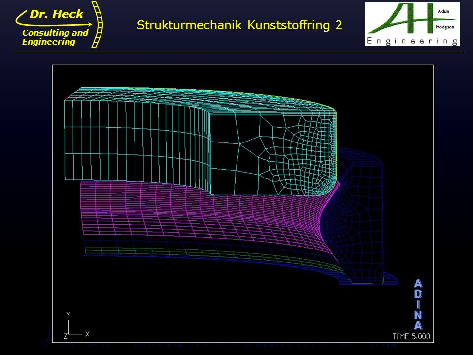 Strukturmechanik Kunststoffring 2
