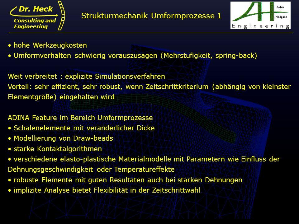 Strukturmechanik Umformprozesse 1