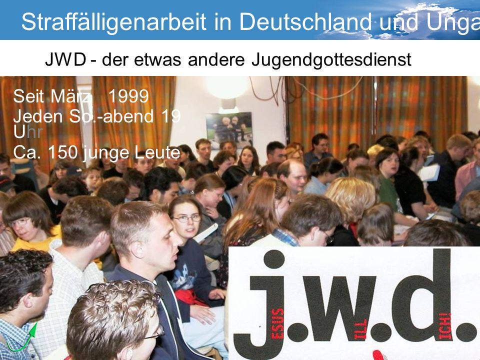 Straffälligenarbeit in Deutschland und Ungarn