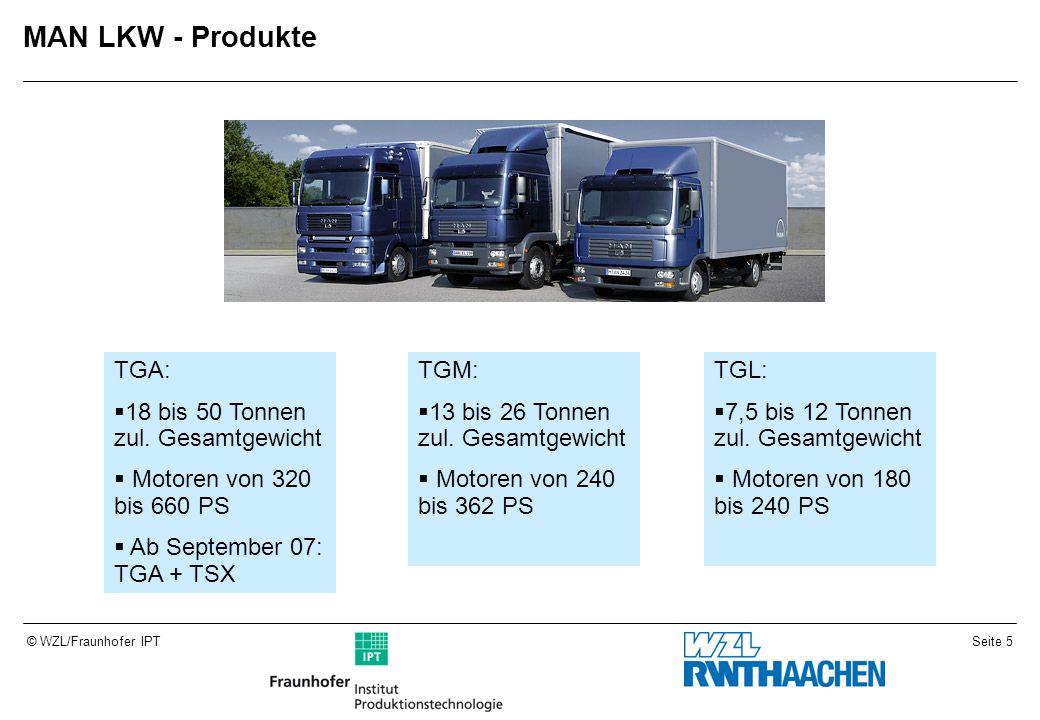 MAN LKW - Produkte TGA: 18 bis 50 Tonnen zul. Gesamtgewicht