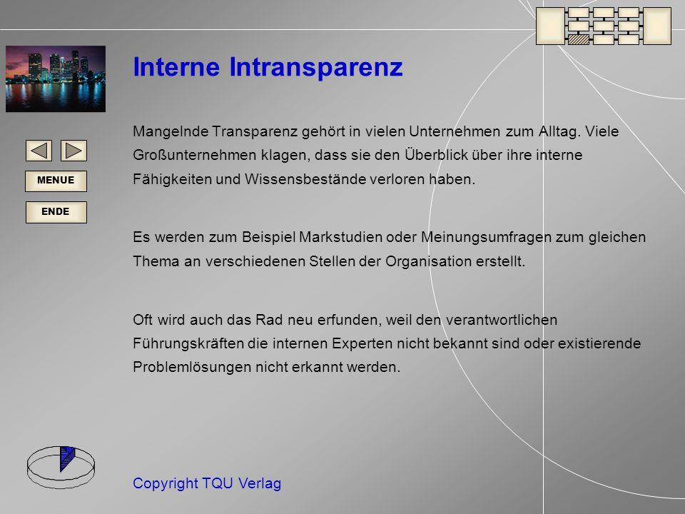 Interne Intransparenz