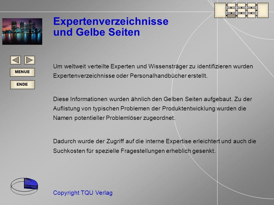 Expertenverzeichnisse und Gelbe Seiten