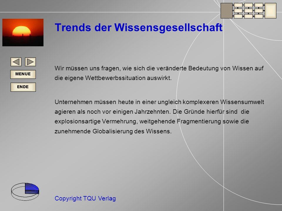 Trends der Wissensgesellschaft
