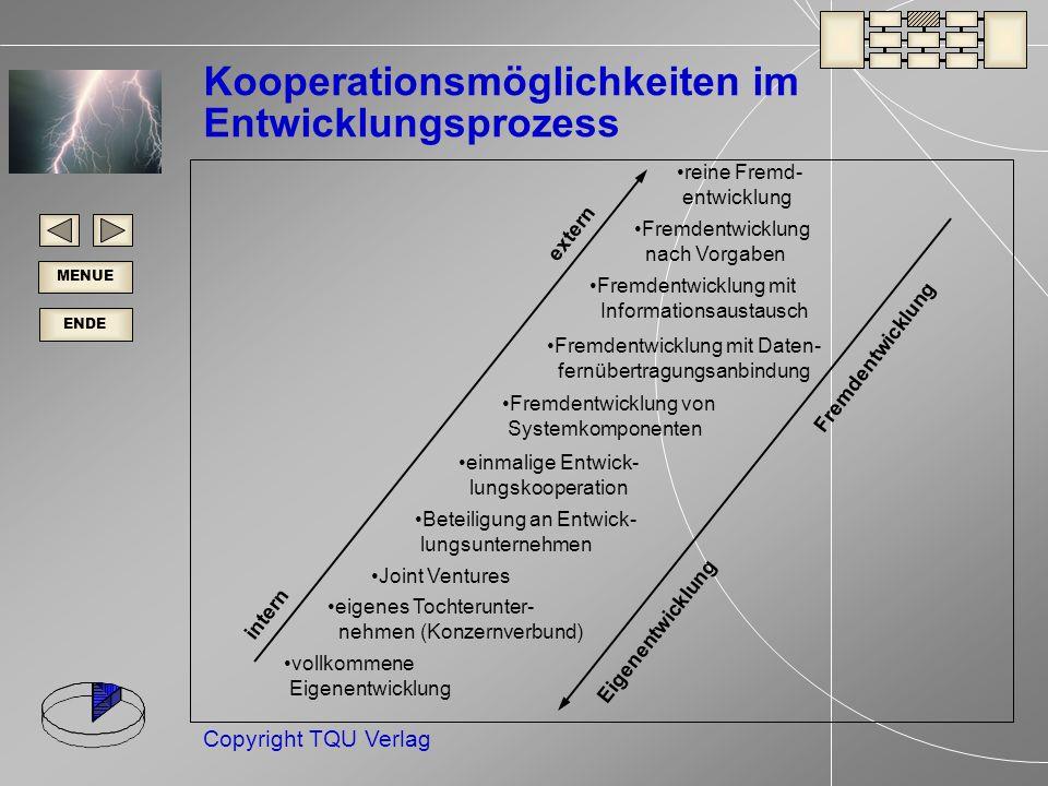 Kooperationsmöglichkeiten im Entwicklungsprozess