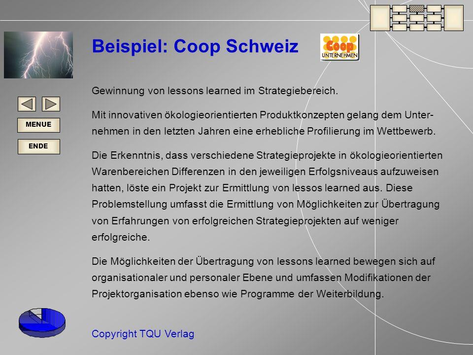 Beispiel: Coop Schweiz