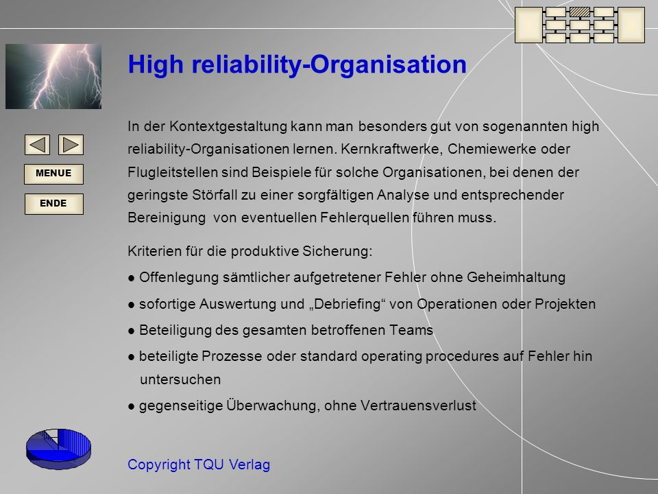 High reliability-Organisation