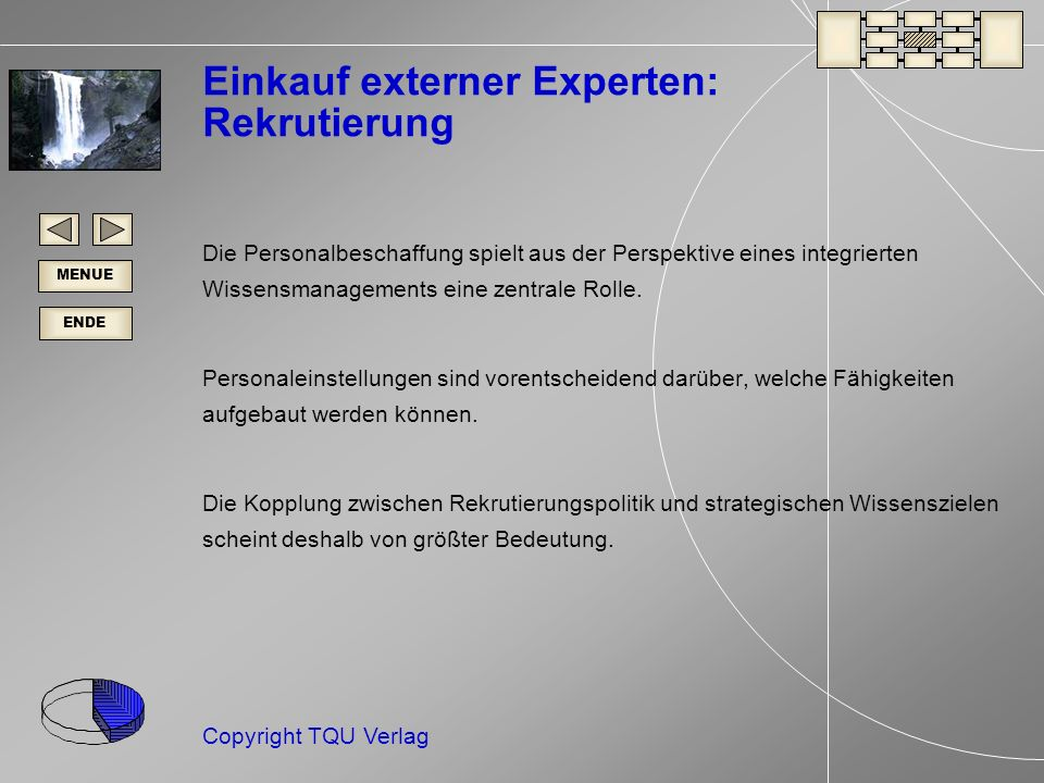 Einkauf externer Experten: Rekrutierung