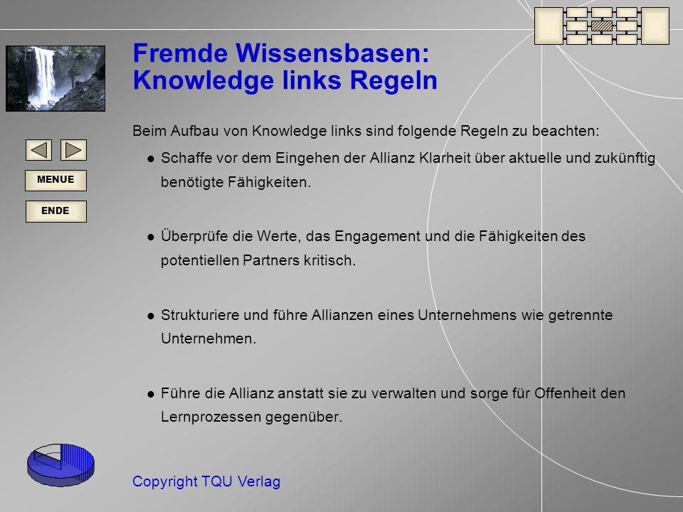 Fremde Wissensbasen: Knowledge links Regeln