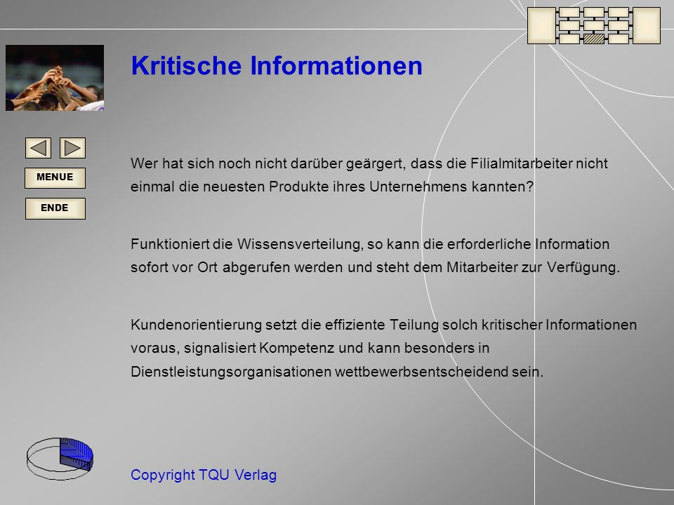 Kritische Informationen