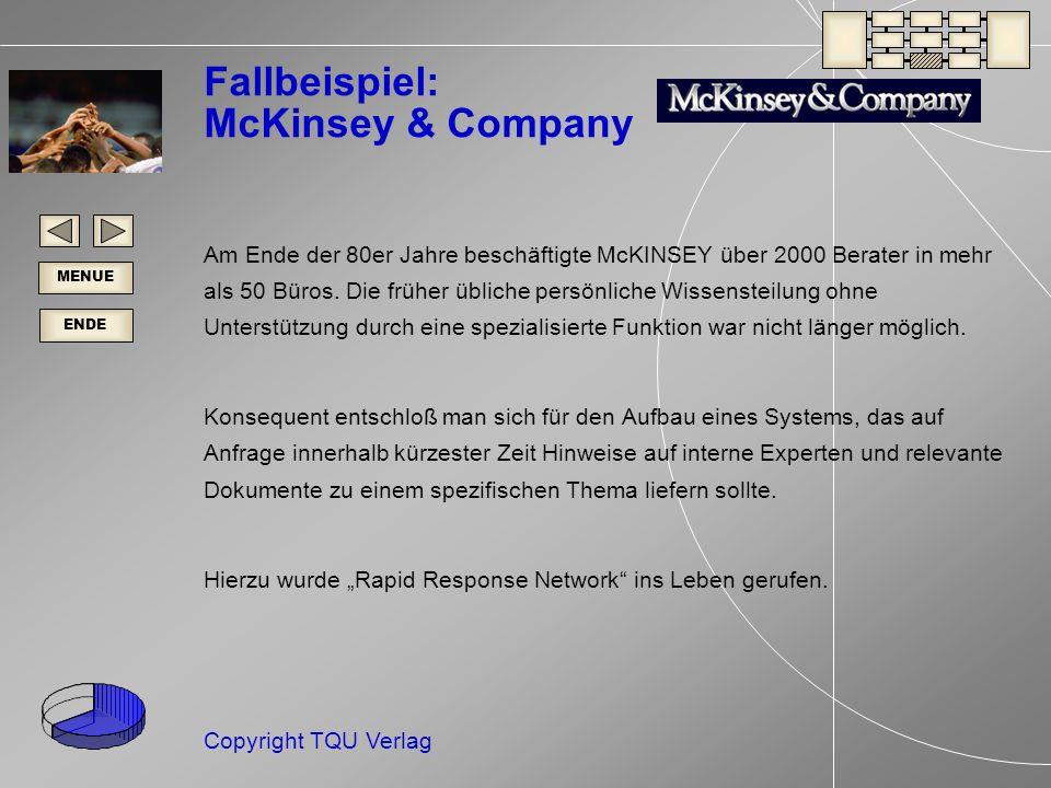 Fallbeispiel: McKinsey & Company
