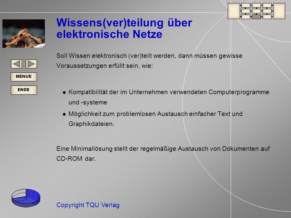 Wissens(ver)teilung über elektronische Netze