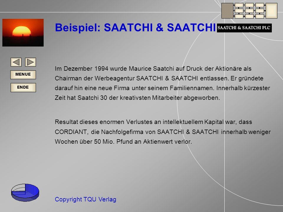 Beispiel: SAATCHI & SAATCHI