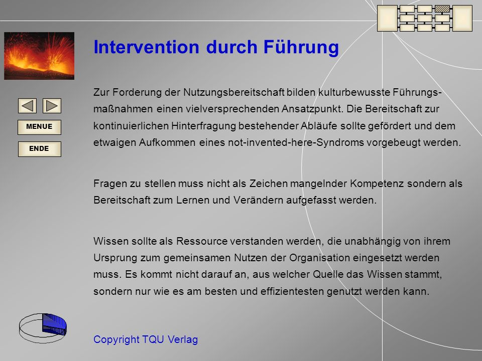 Intervention durch Führung