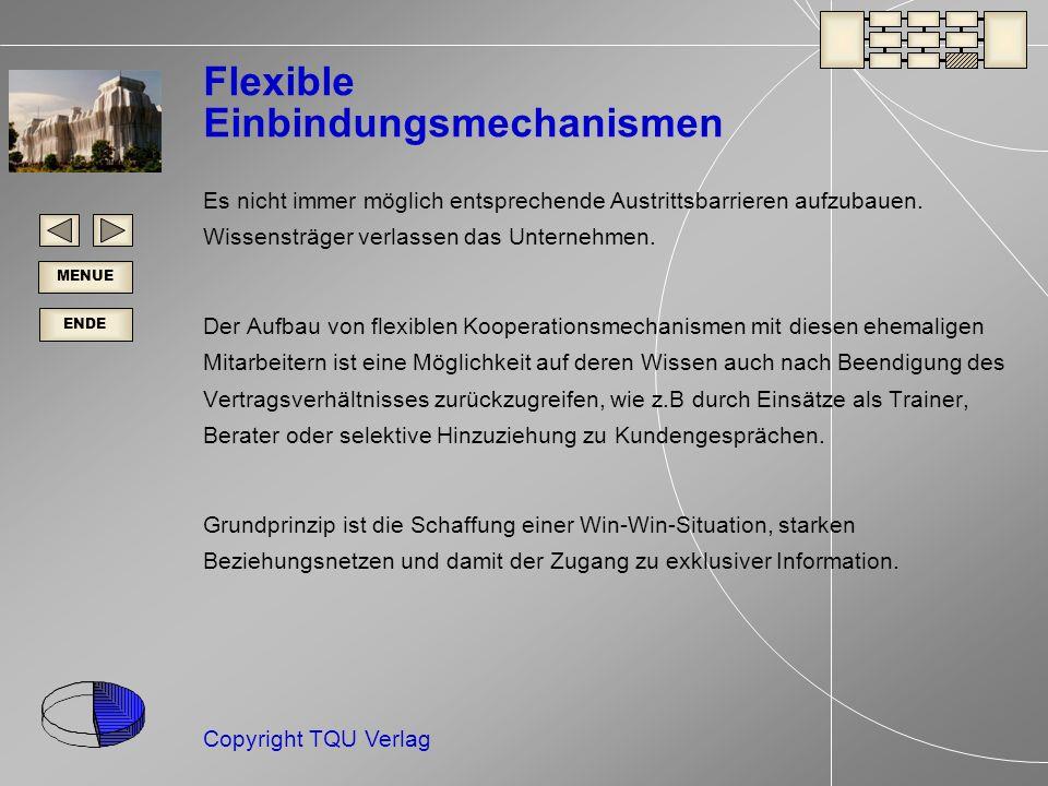 Flexible Einbindungsmechanismen