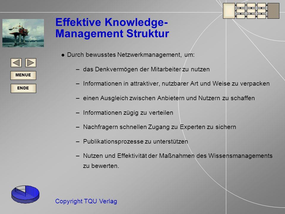 Effektive Knowledge- Management Struktur