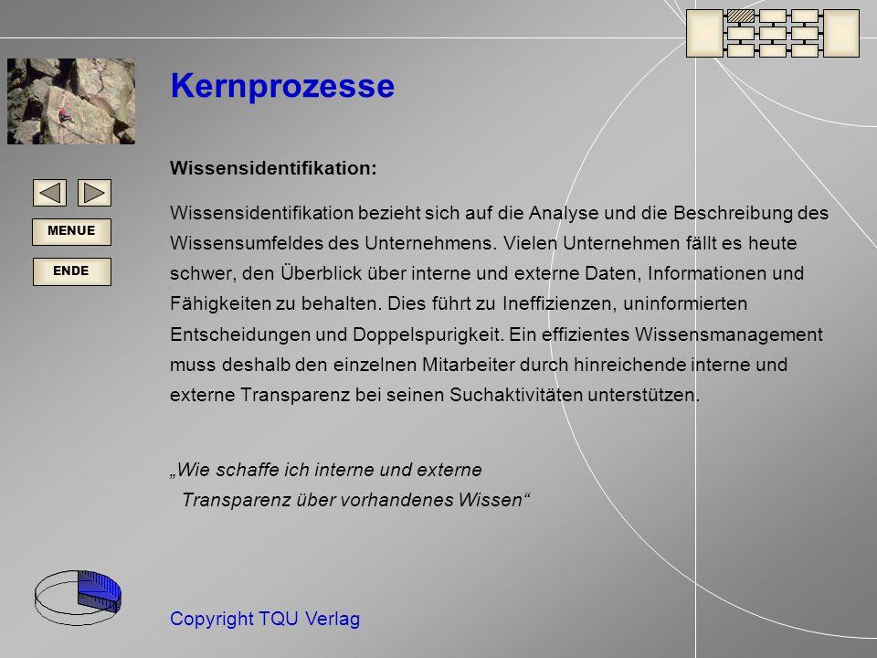 Kernprozesse Wissensidentifikation: