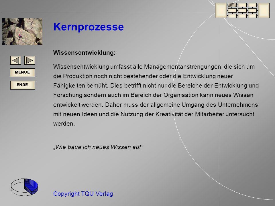 Kernprozesse Wissensentwicklung: