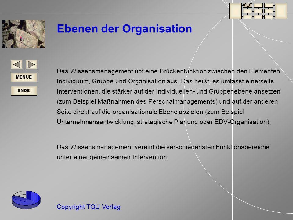Ebenen der Organisation