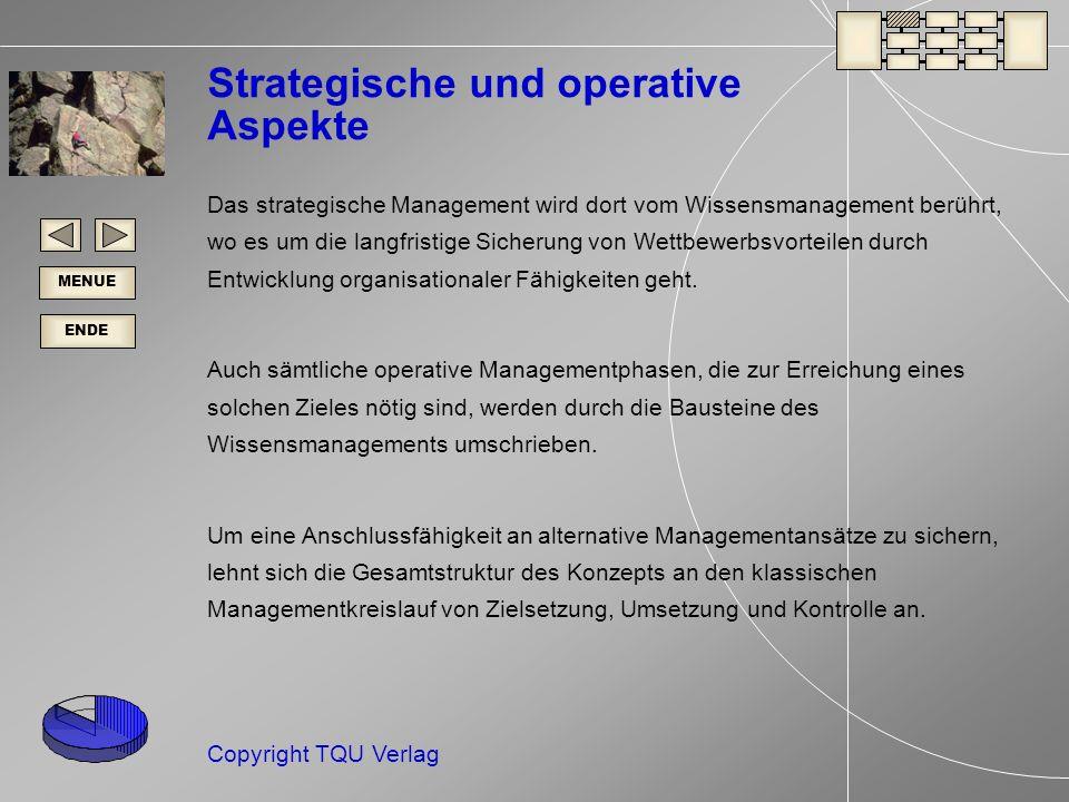 Strategische und operative Aspekte