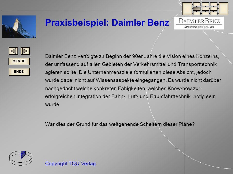 Praxisbeispiel: Daimler Benz