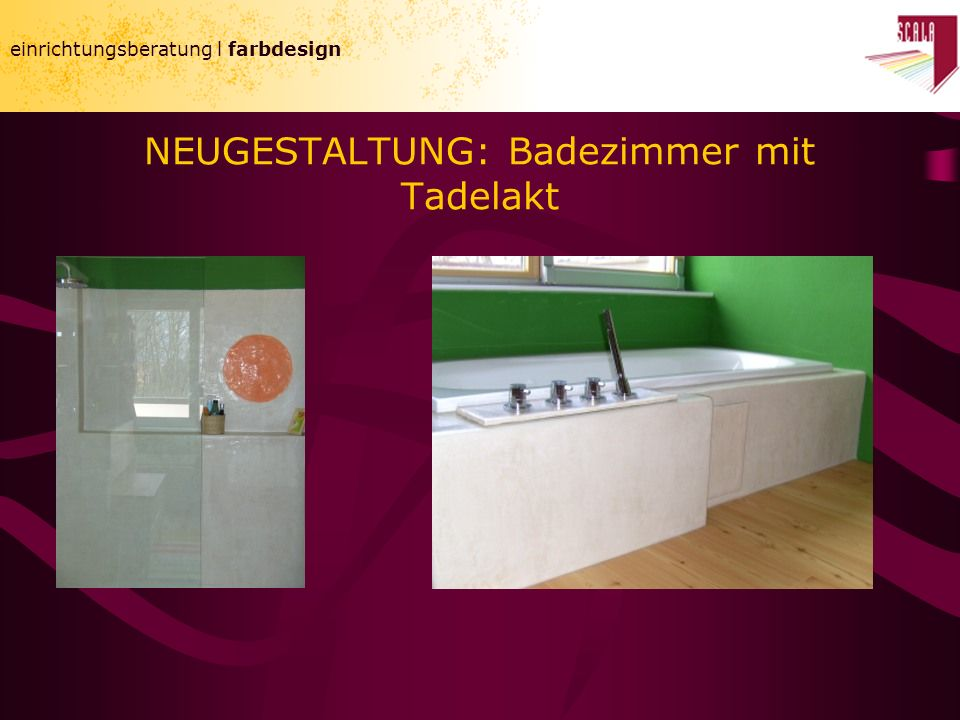 NEUGESTALTUNG: Badezimmer mit Tadelakt