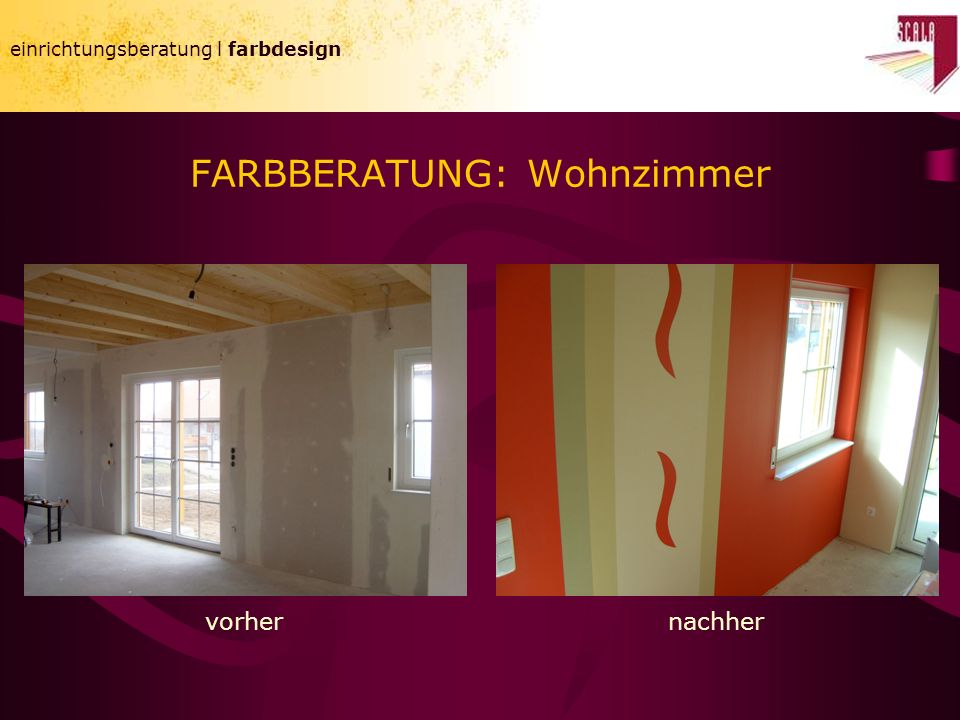FARBBERATUNG: Wohnzimmer