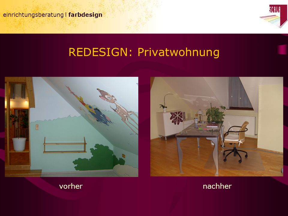 REDESIGN: Privatwohnung