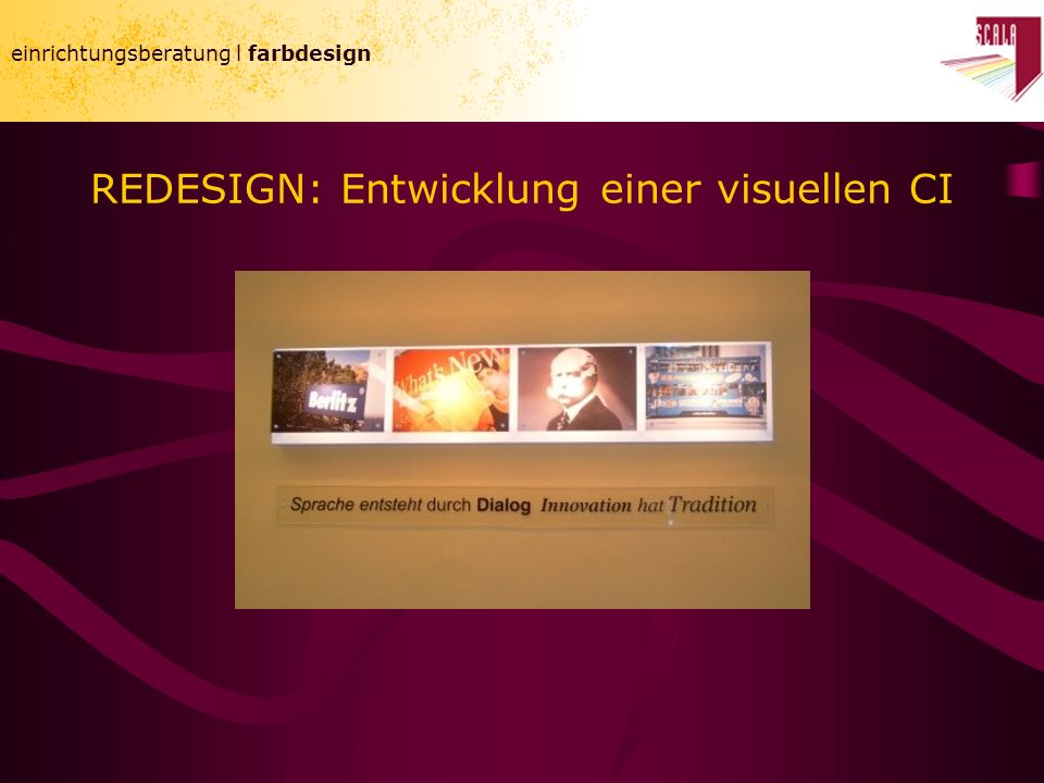 REDESIGN: Entwicklung einer visuellen CI