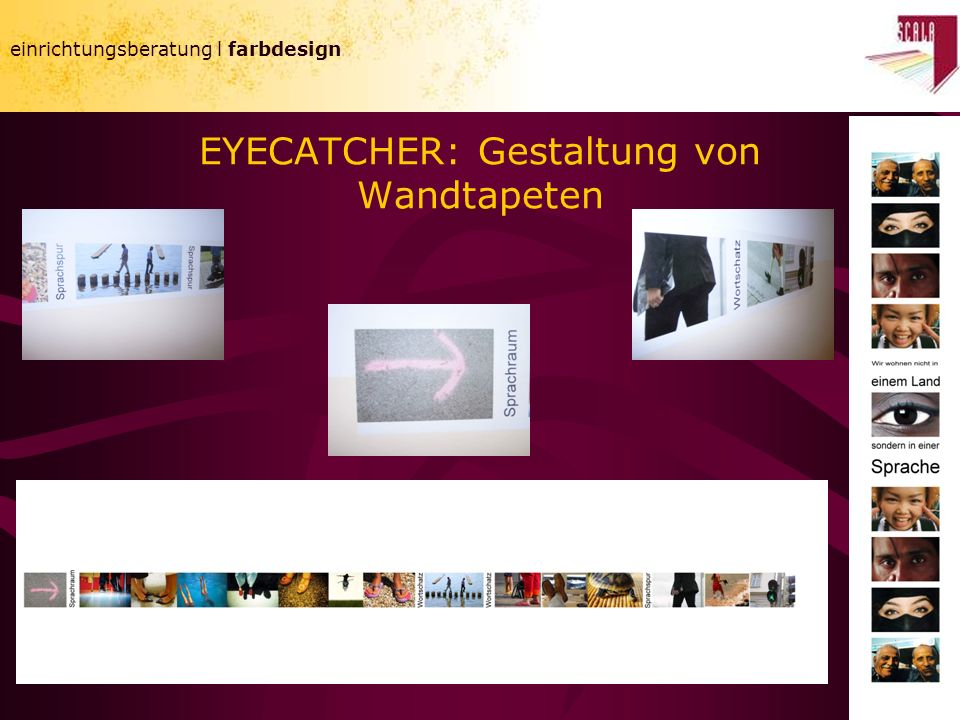 EYECATCHER: Gestaltung von Wandtapeten