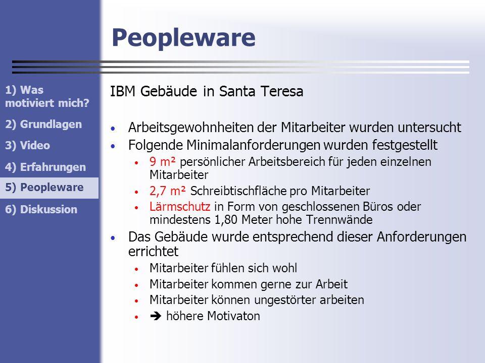 Peopleware IBM Gebäude in Santa Teresa