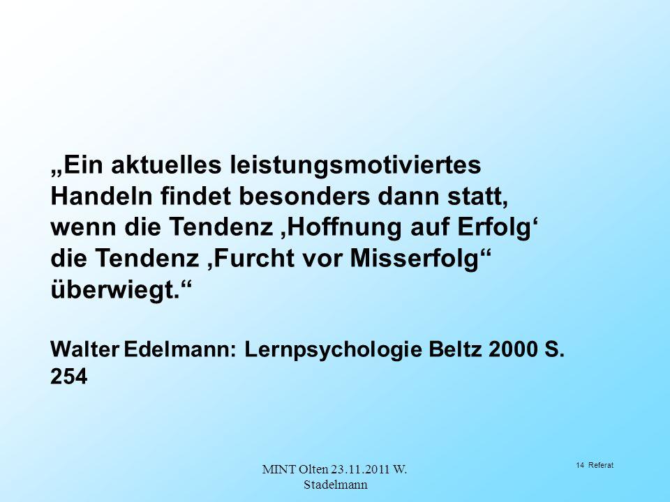 MINT Olten 23.11.2011 W. Stadelmann