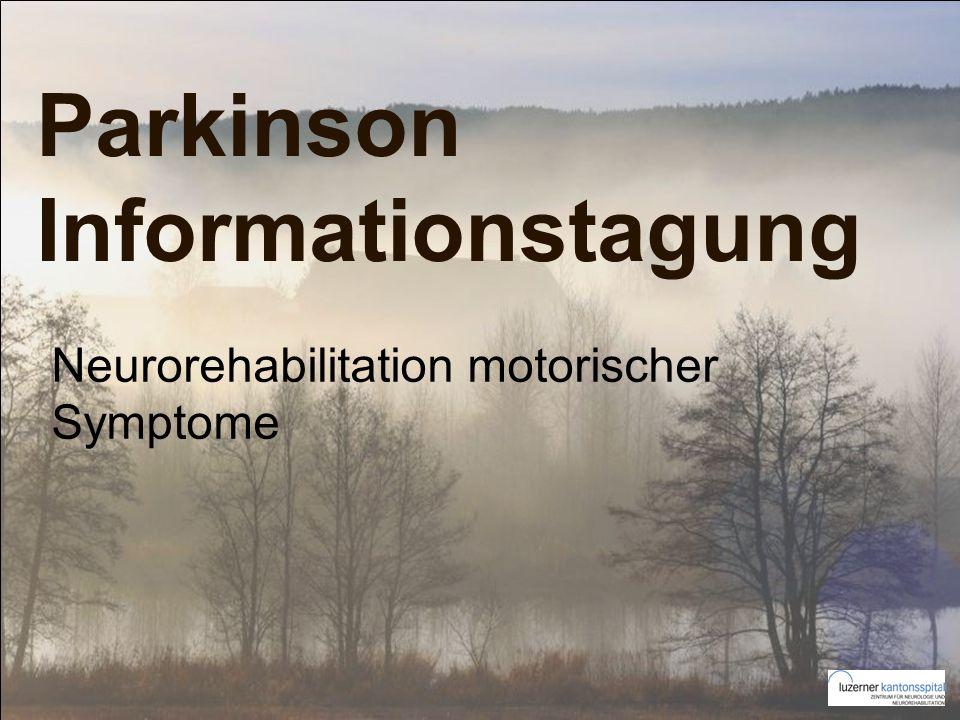 Parkinson Informationstagung