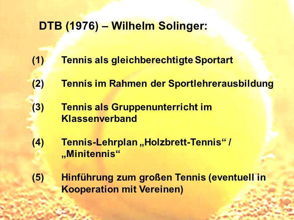 DTB (1976) – Wilhelm Solinger: