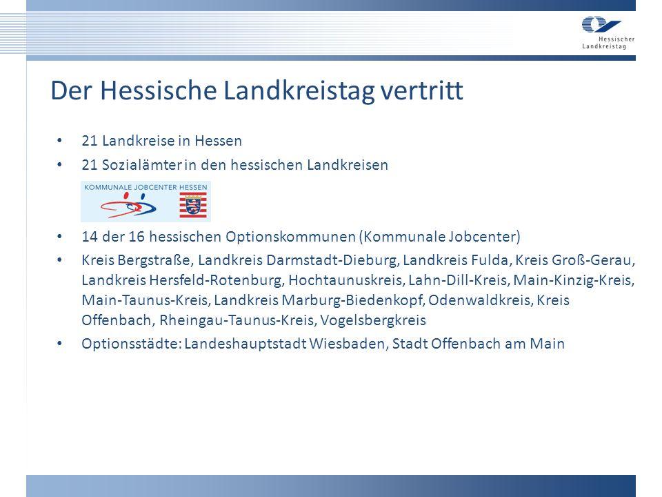 Der Hessische Landkreistag vertritt