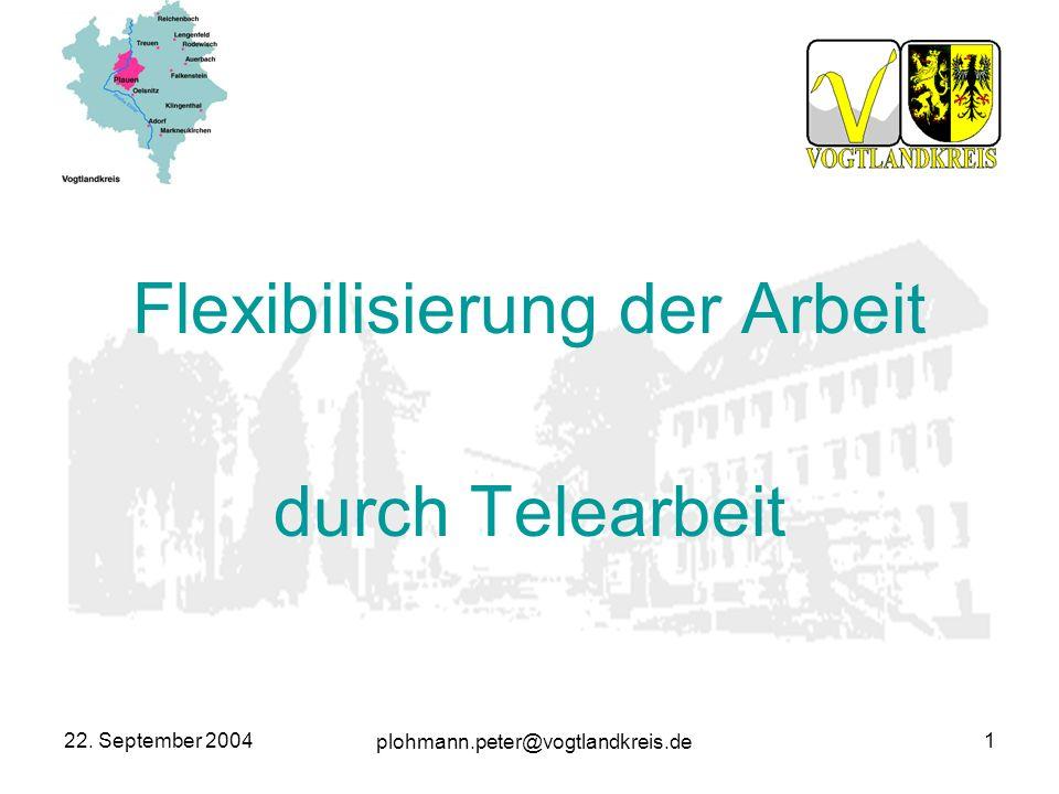 Flexibilisierung der Arbeit