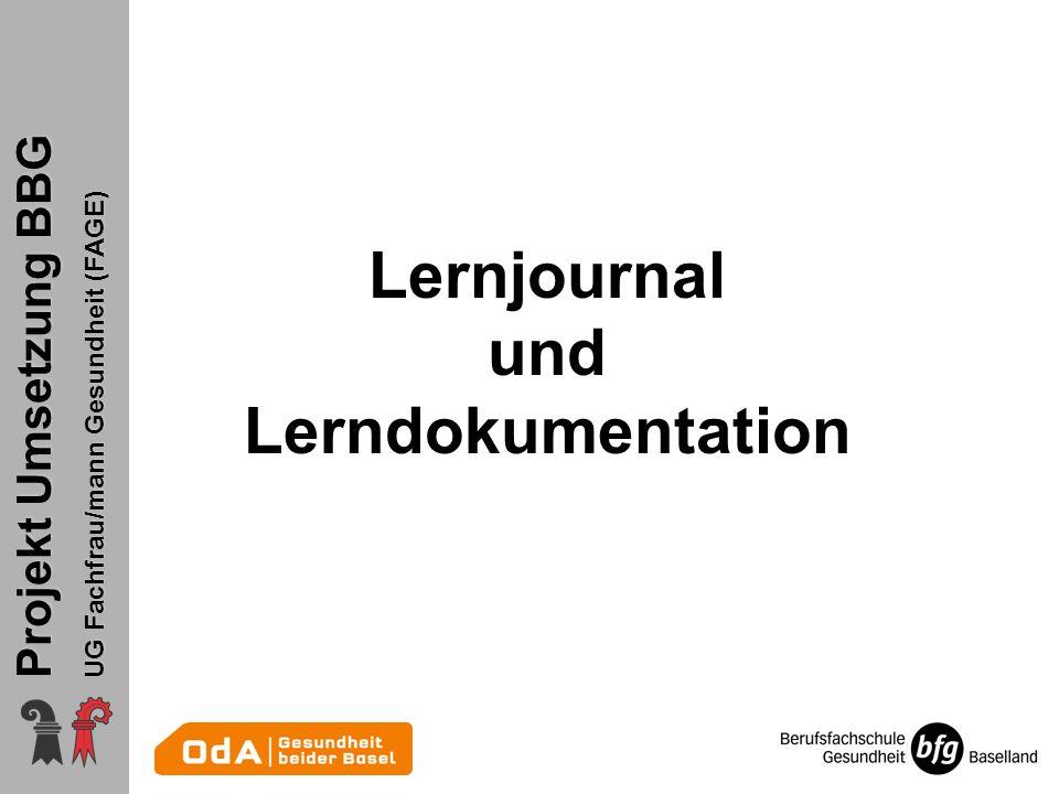 Lernjournal und Lerndokumentation