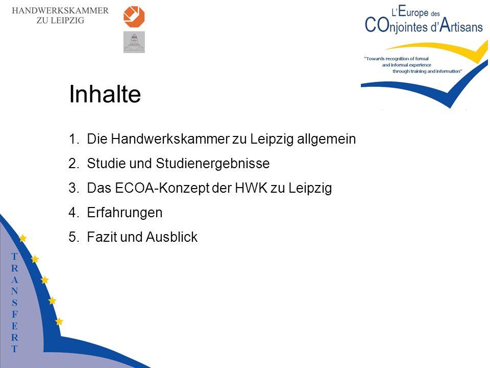 Inhalte Die Handwerkskammer zu Leipzig allgemein