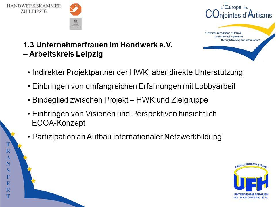 1.3 Unternehmerfrauen im Handwerk e.V. – Arbeitskreis Leipzig