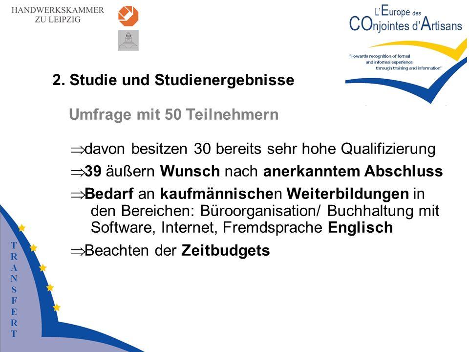 2. Studie und Studienergebnisse